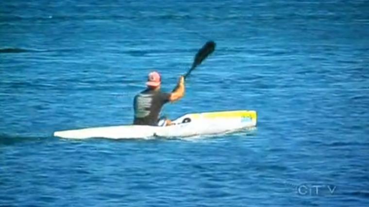 Global TV & CTV media coverage of the Vic to Van Paddle